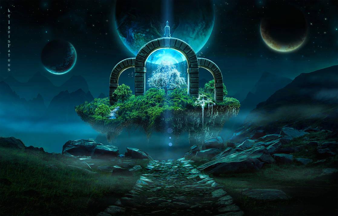 Magic tree. by IgnisFatuusII