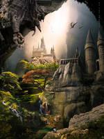 MysteriousTown by IgnisFatuusII