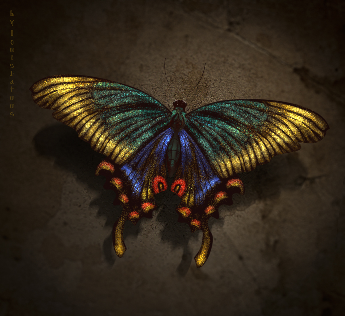 Butterfly by IgnisFatuusII