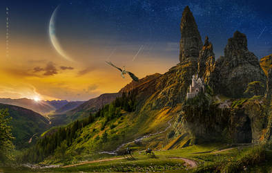 Dragon's land by IgnisFatuusII