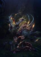 Dragon's clutch by IgnisFatuusII