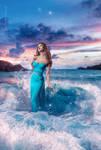 Sea's goddess