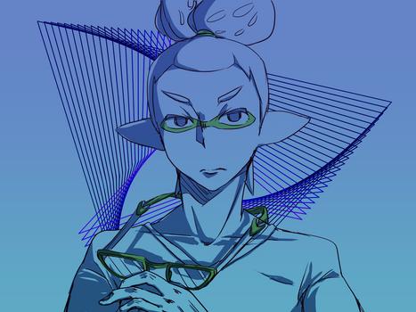 boy rough sketch