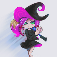 witch by kinago