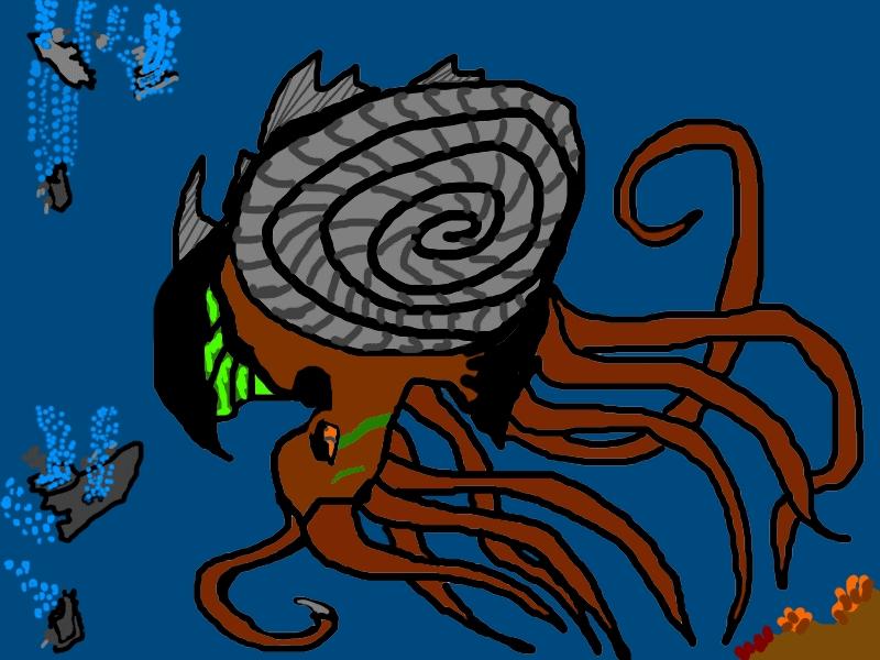The Beast Of The Deep by Nibaha