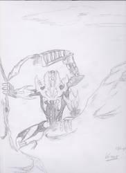 BIONICLE Vorox version crayon