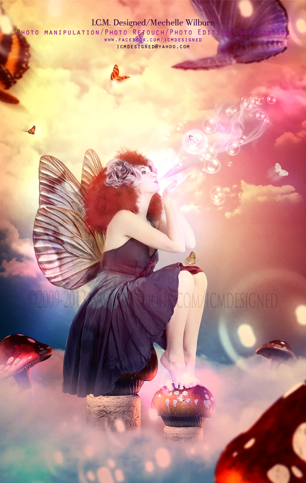 Butterfly Sky by ICMDesigned