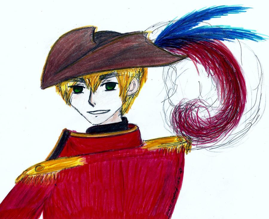 Captain Arthur Kirkland! by owlhead20