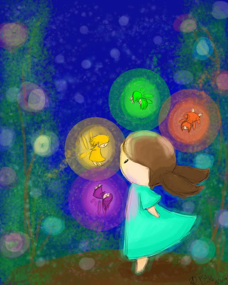 Fairy Circle by owlhead20