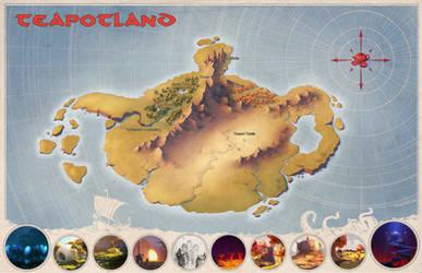 Teapotland Map by MilanVasek
