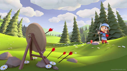 Field Archery by MilanVasek