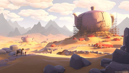 Desert by MilanVasek