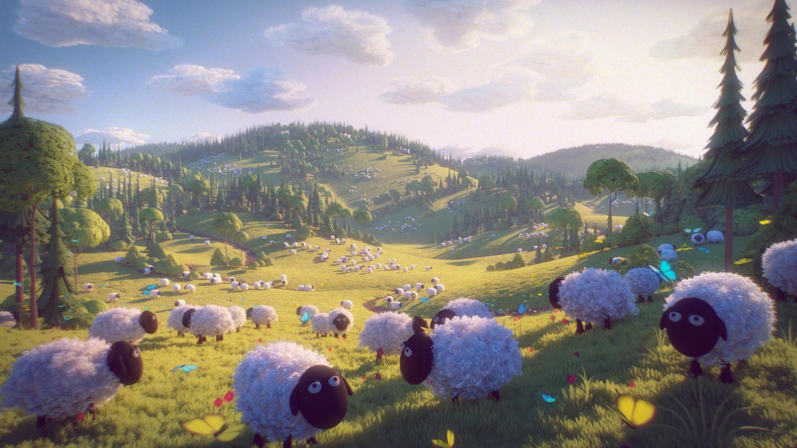 Sheepland by MilanVasek