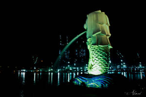 The Merlion by ahmad0410