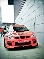 Team Orange Subaru Impreza by ahmad0410