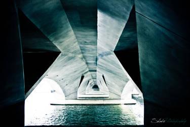 River Under the Bridge by ahmad0410