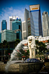 Singapore from Merlion Park by ahmad0410