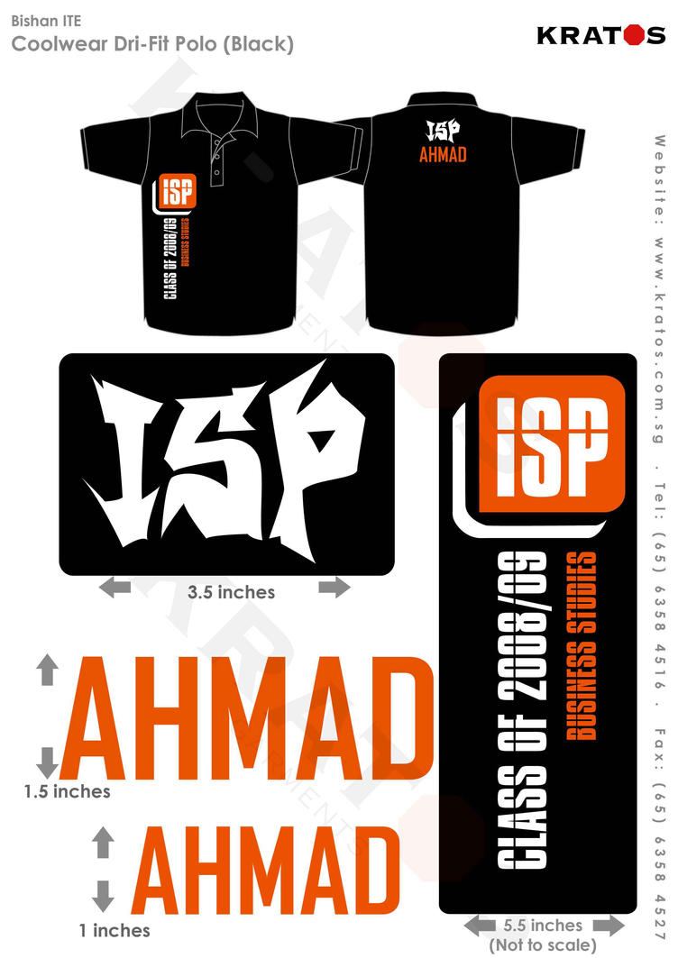 Class Shirt: ISP Class of '10 by ahmad0410