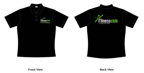 Fitness Club T-Shirt by ahmad0410