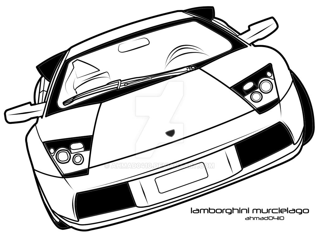 Lamborghini Murcielago Vector By Ahmad0410 On Deviantart