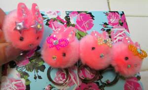 Pink Fluffy Bunnies