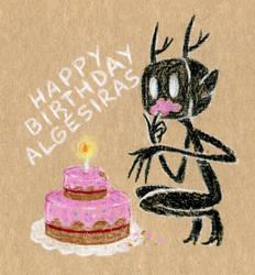 Birthday card for Algesiras