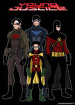 Robins Young Justice Version