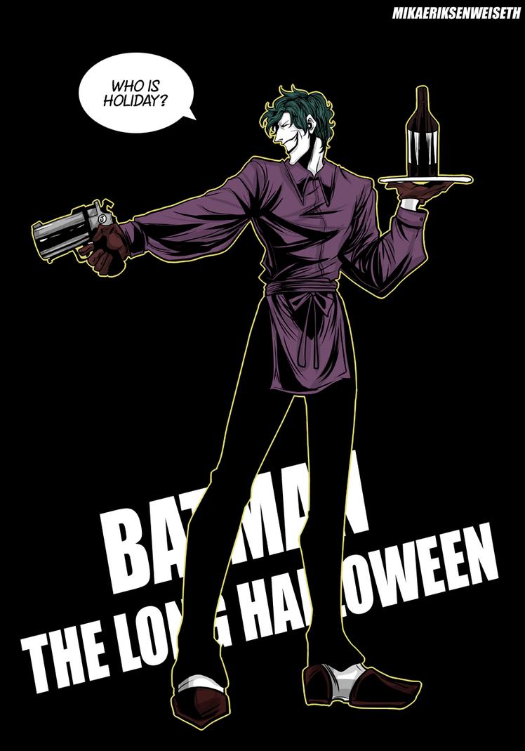 Joker Batman The Long Halloween by mikaeriksenweiseth on DeviantArt