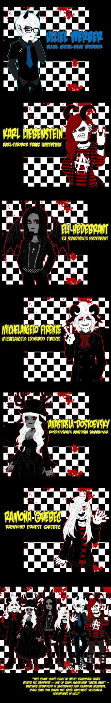 The Vampires by mikaeriksenweiseth