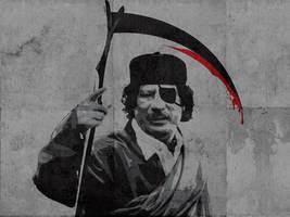 Gaddafi by alijabbar