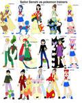 Sailor Senshi as Pokermon trainers