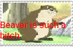 Beaver Stamp by HamtaroDramaClass