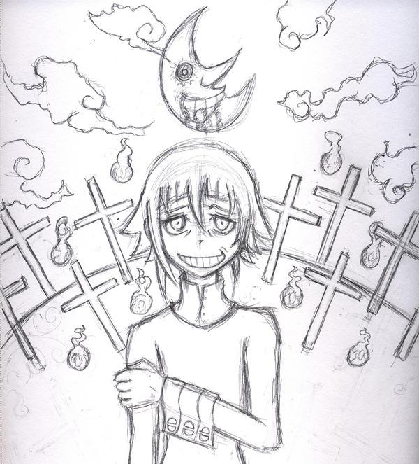 Crona - Sketch by HyruleMaster on DeviantArt