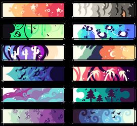 Color Palettes Adopt #3   F2U