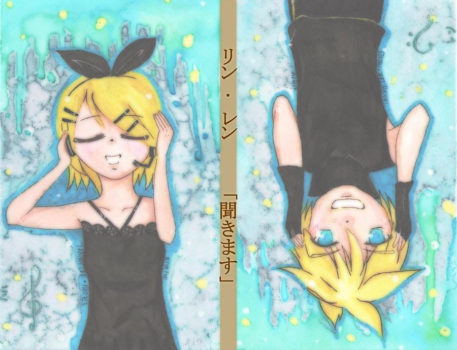 Vocaloid Rin. Len. LISTEN by neo123
