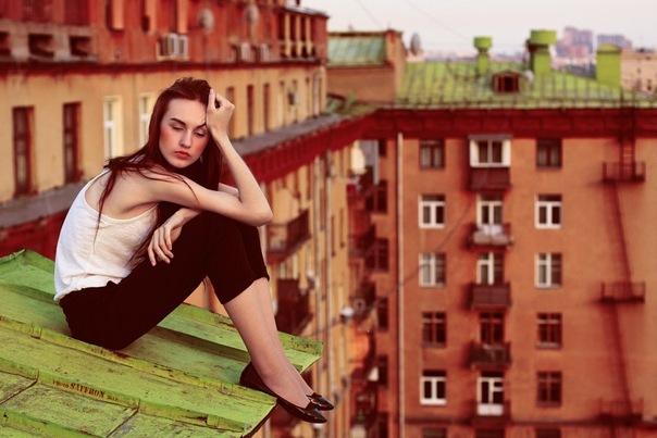 Roof Scenery (3) by milkloveshoney