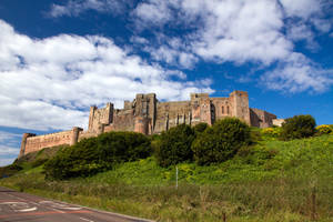 Bamburgh Castle by parallel-pam