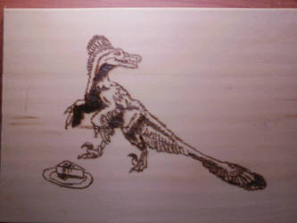 Pyrography:  Shino's cake by naaxha