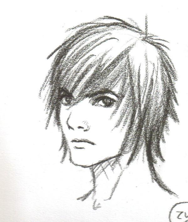 Boy Sketch Emo by Doxycycline on DeviantArt
