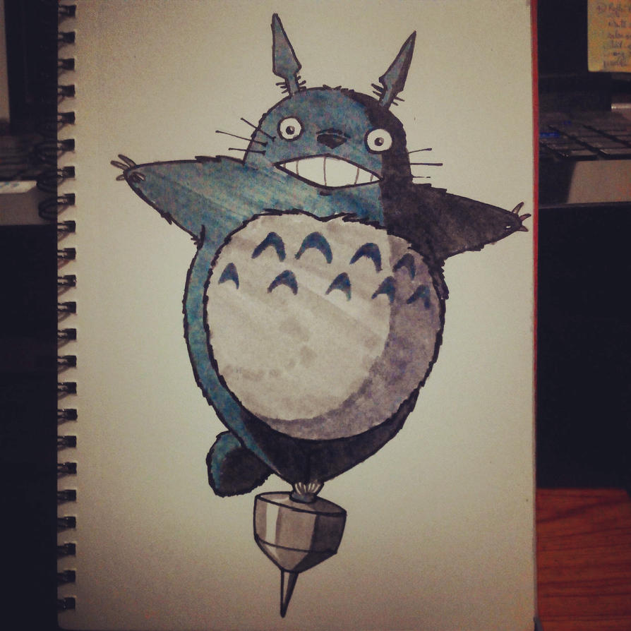 My Friend Totoro by nagi-as