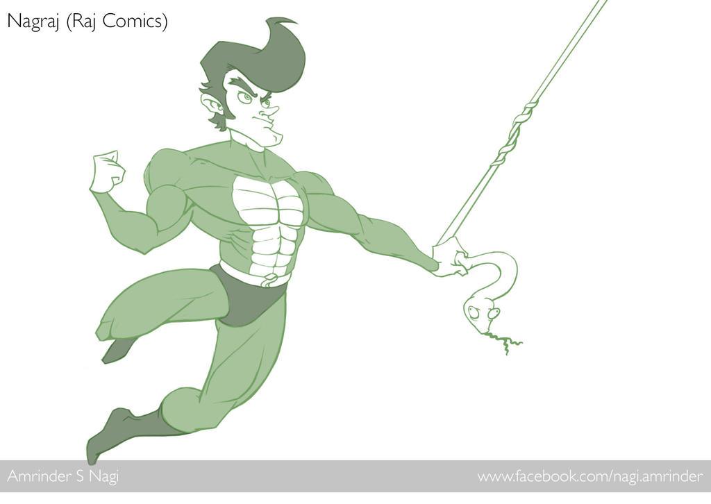 Nagraj - The Animated Series by nagi-as
