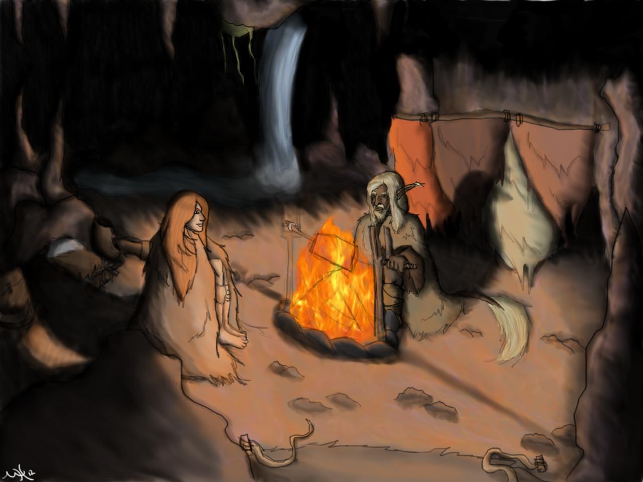 Firelight by Markus-The-Madman