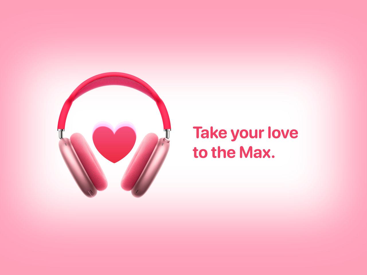 AirPods Max Valentine's Edition