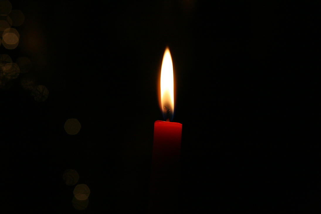 candle in the dark -#main