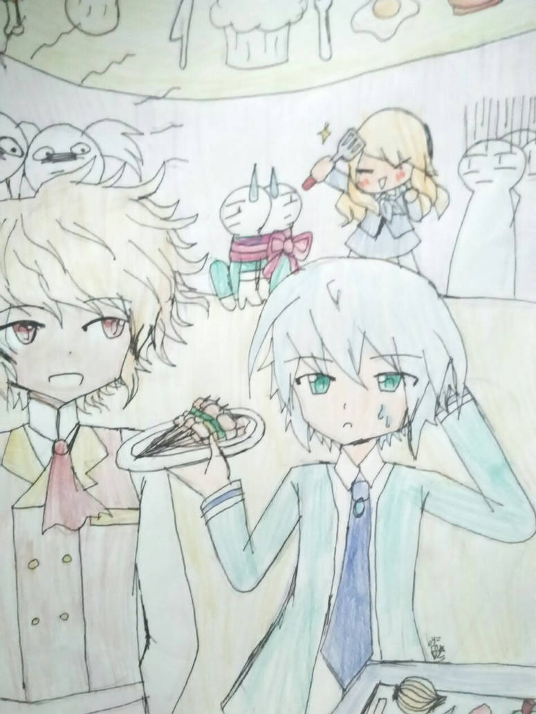 PA side event - The secret recipe is... by FloDoodling