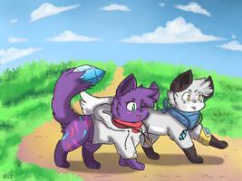 A Friendly Walk [COMMISSION]