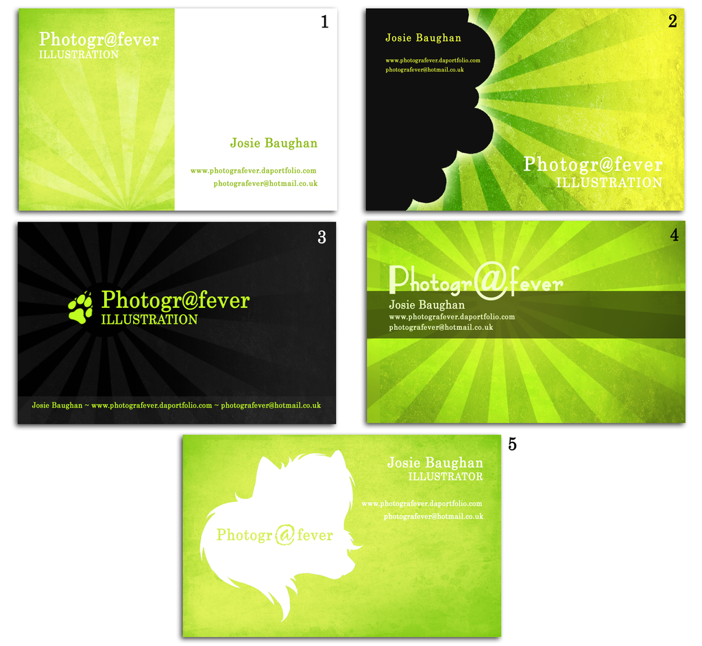 Business Cards- VOTE by photografever