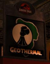 Jurassic Park Geothermal Plant Logo by MismeretMonk