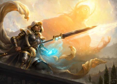Elspeth - Heliod's Champion