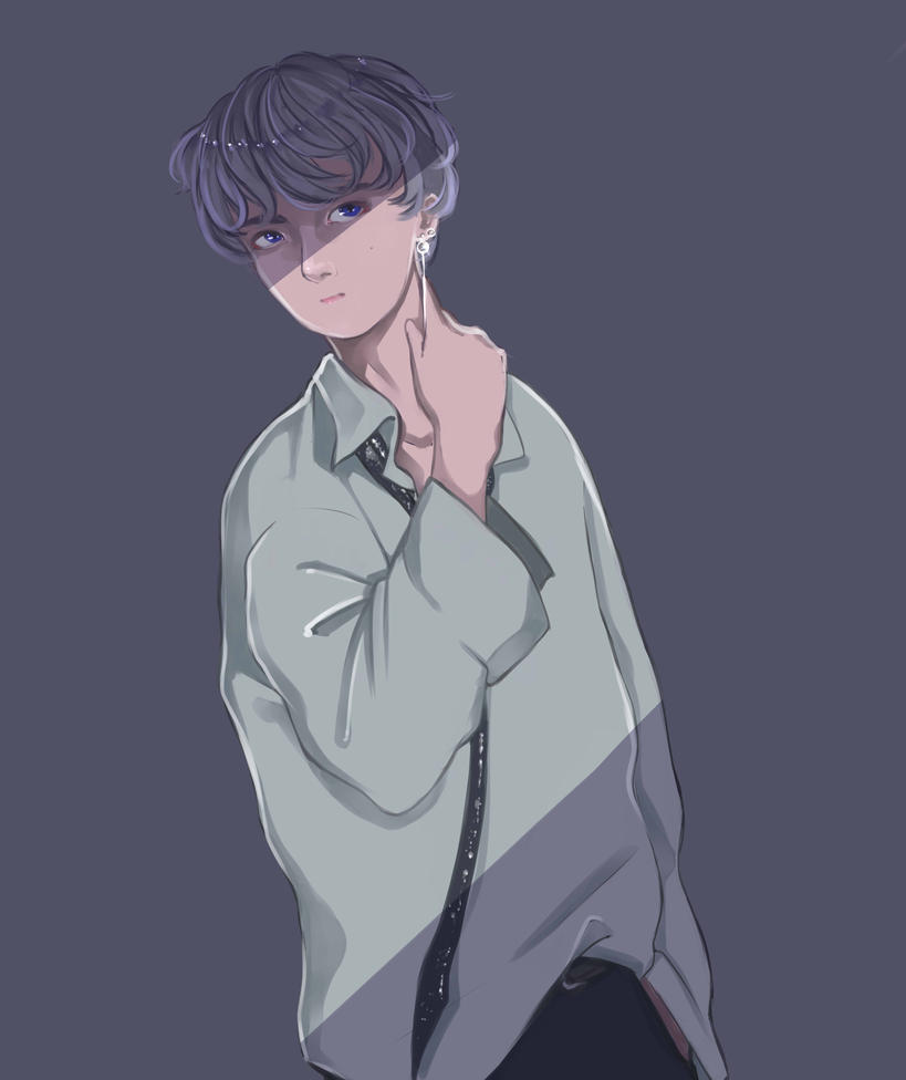 Taehyung by Saurikone